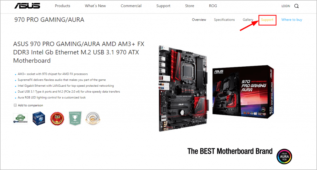 Update Asus 970 Pro Gaming/Aura Drivers  Quickly & Easily! - Driver Easy
