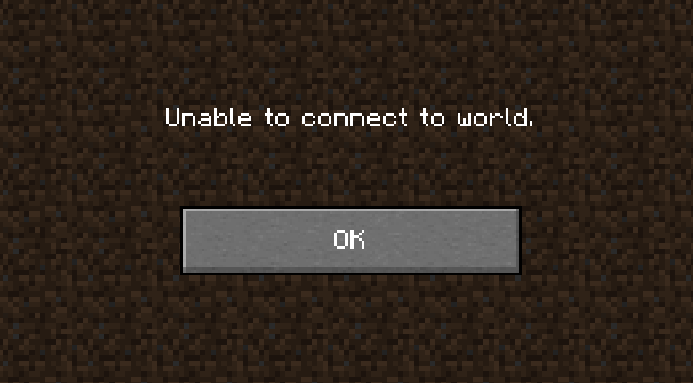 SOLVED Minecraft Unable to Connect to World Driver Easy