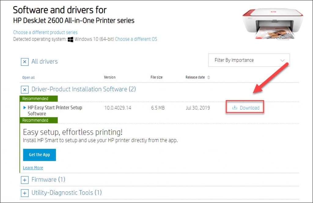 HP DeskJet 2600 Drivers Download for Windows 7/8/10 ...