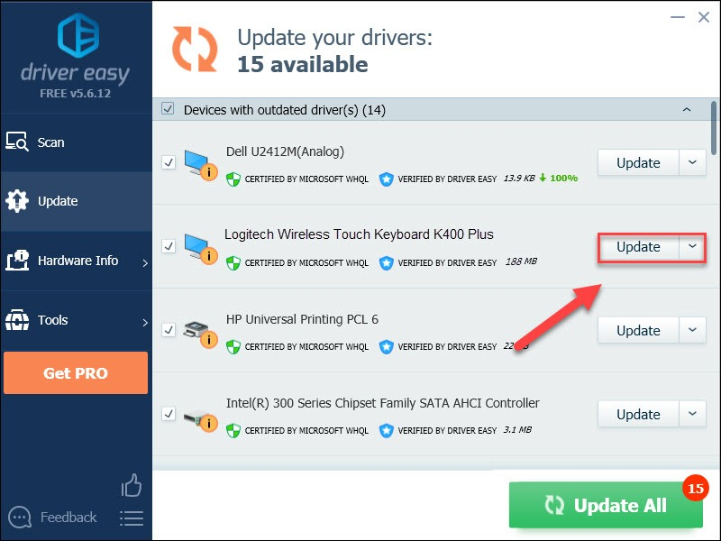 Download Logitech K400 Plus Driver Driver Easy