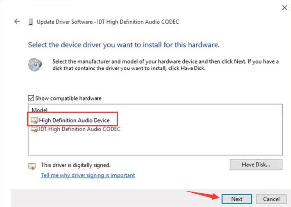 Solved: Windows 10 audio driver - IDT High Definition ...