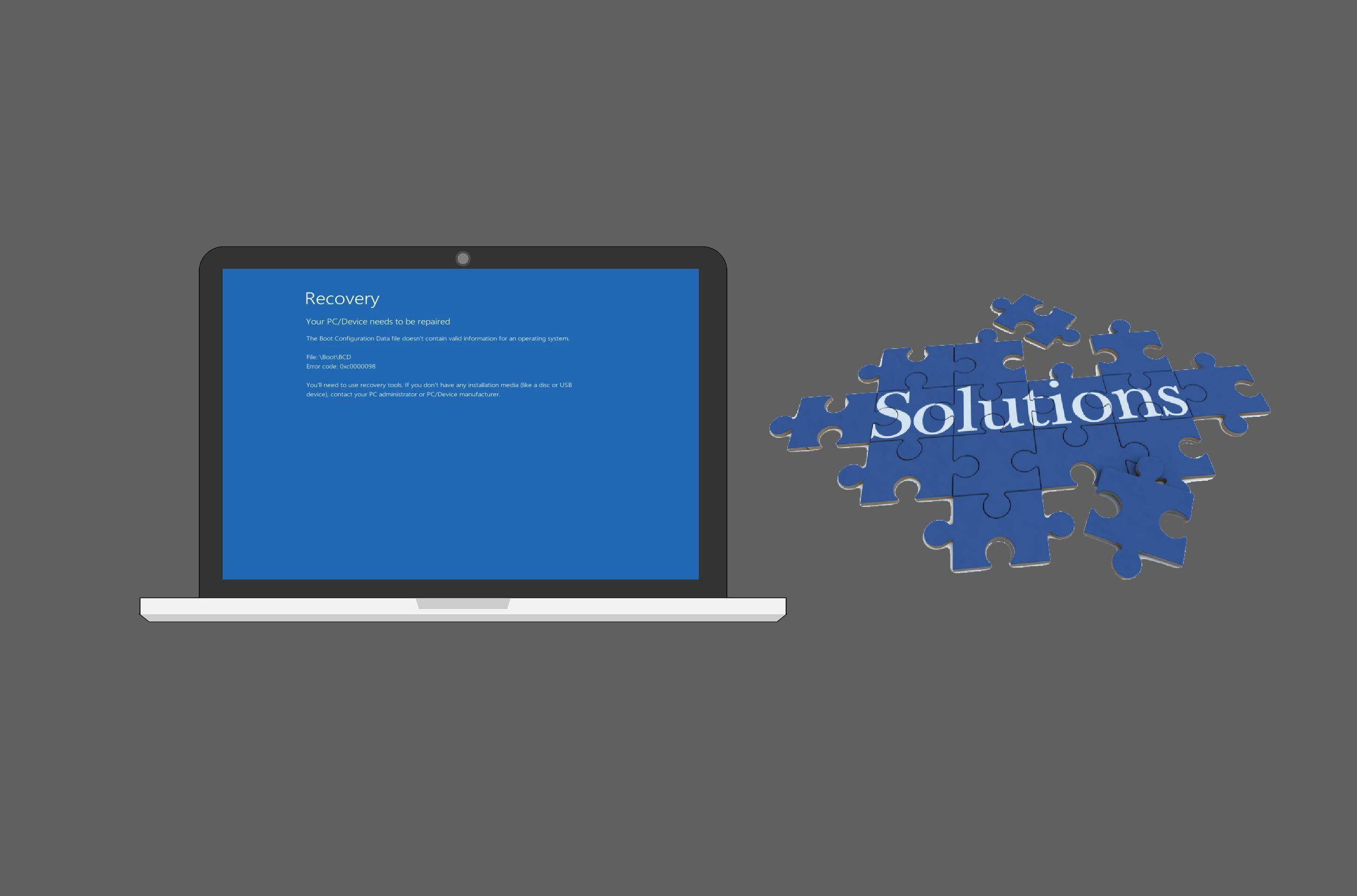 Fix Error Code 0xc0000098 On Windows 10 8 7 Driver Easy
