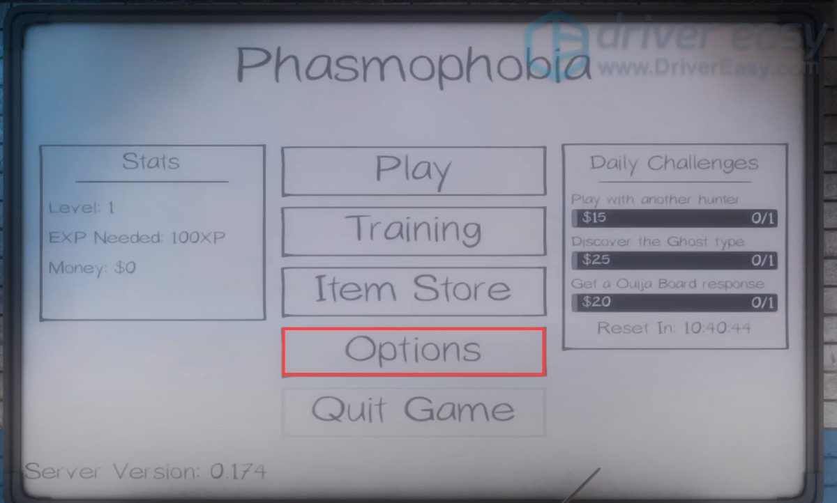 check in-game audio settings Phasmophobia voice chat not working