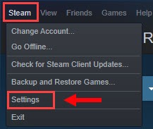 disable hardware encoding Steam