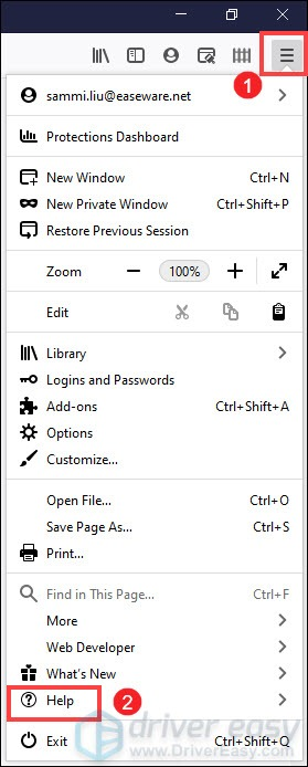 create a new places database Firefox freezing