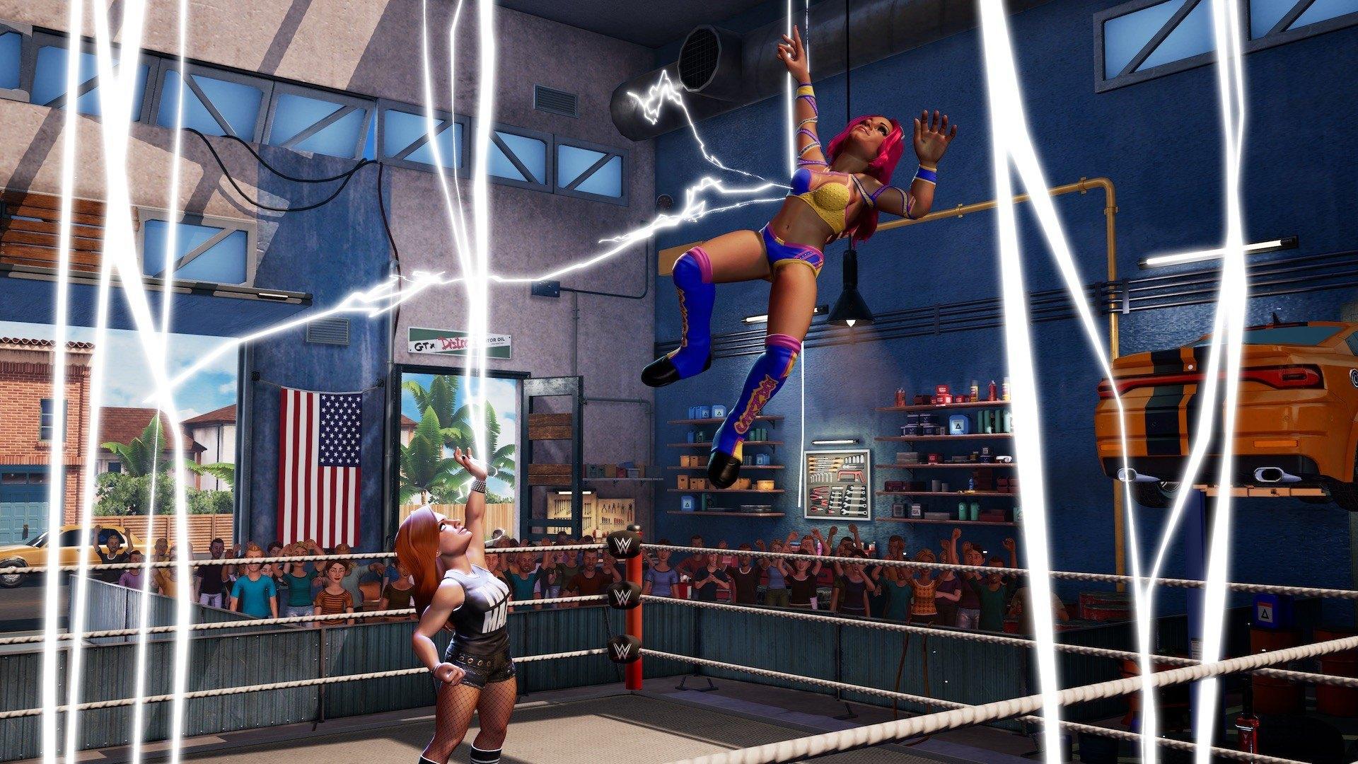 WWE 2K BATTLEGROUND DirectX 10.0 Feature error