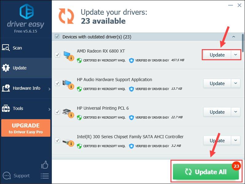 amd 6800 xt driver download