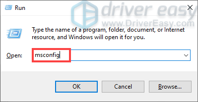 how to open the System Configuration window