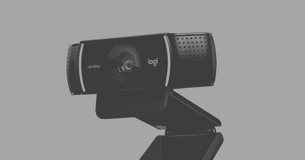 logitech c922 webcam not working