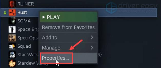 Rust properties
