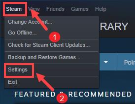delete download cache Steam