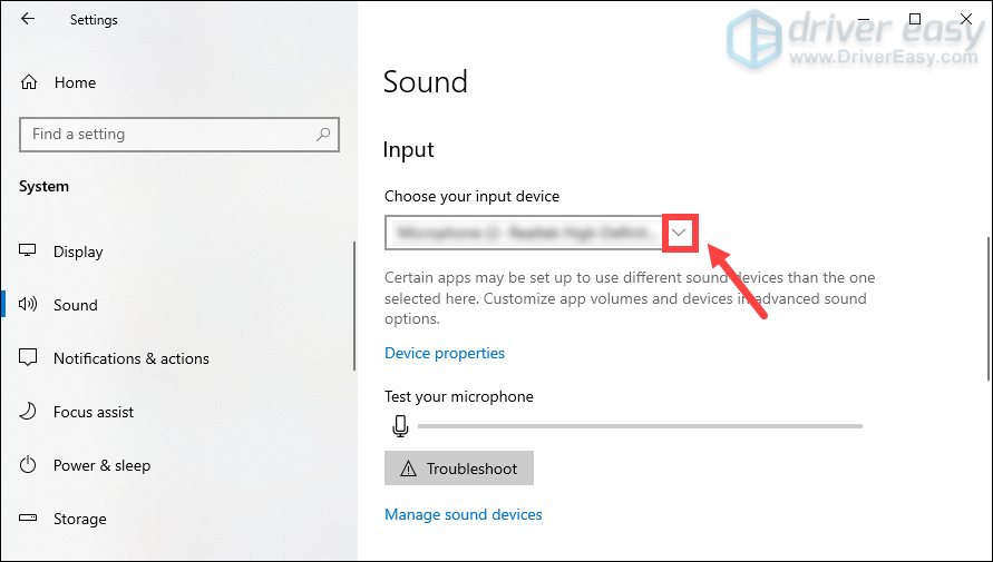 set the headphones as the default device