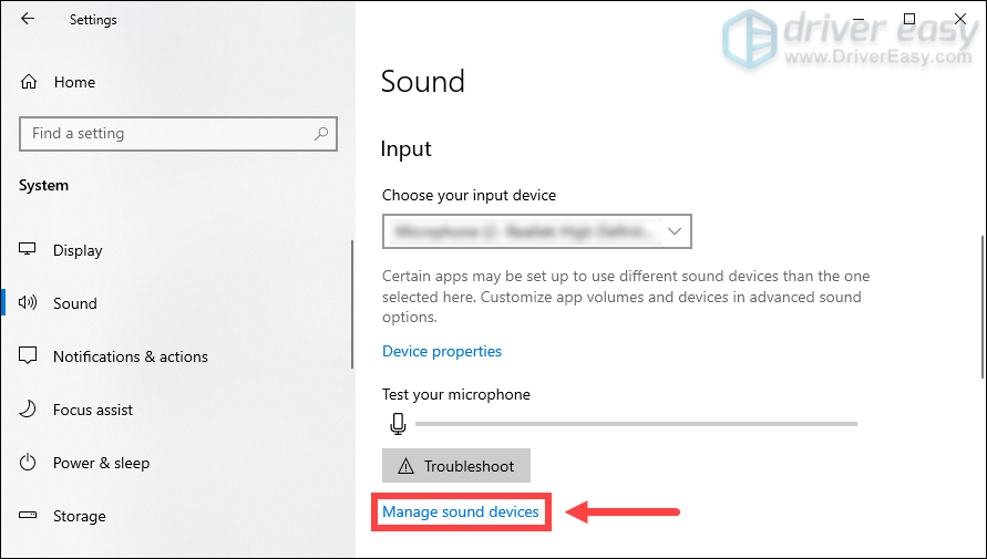 make sure your headphones are not disable