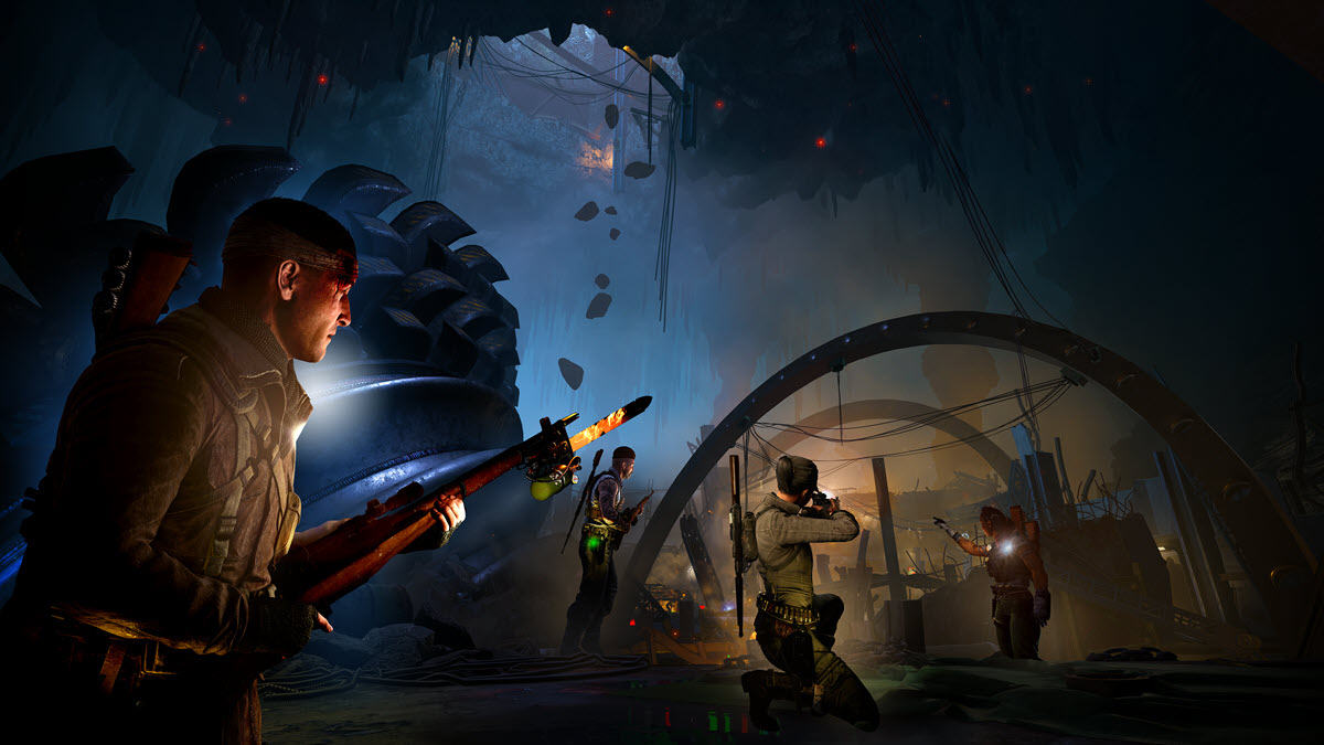Zombie Army 4 Dead War crash on PC