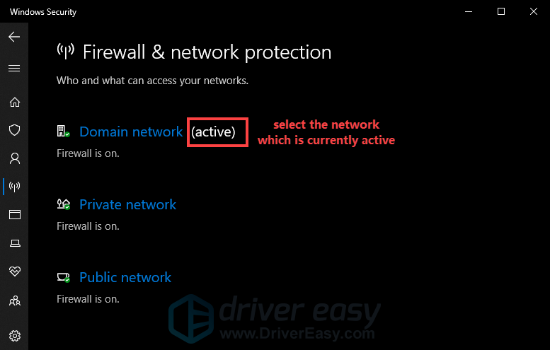 how to turn off Windows Firewall
