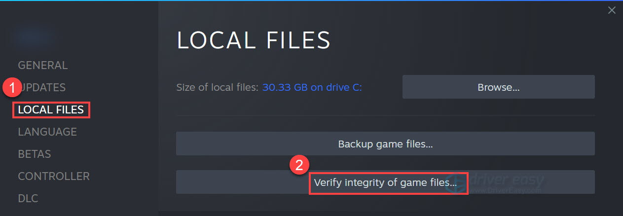 It Takes Two Verify integrity of game files