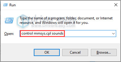 control mmsys.cpl sounds