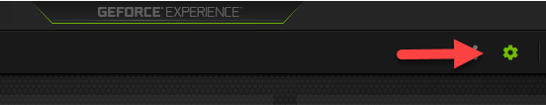 disable GeForce Experience overlay
