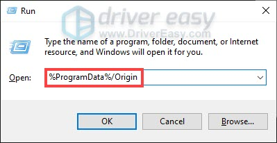 how to clear Origin game cache