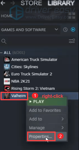 Valheim verify integrity of game files