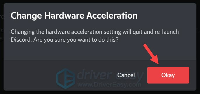 how to disable Discord Hardware Acceleration