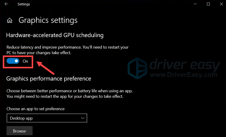 enable hardware-acceleration GPU scheduling