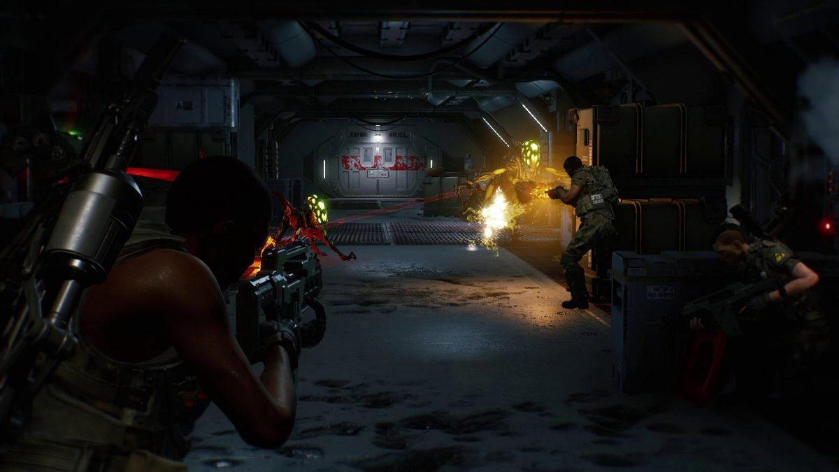 SOLVED Aliens Fireteam Elite crash