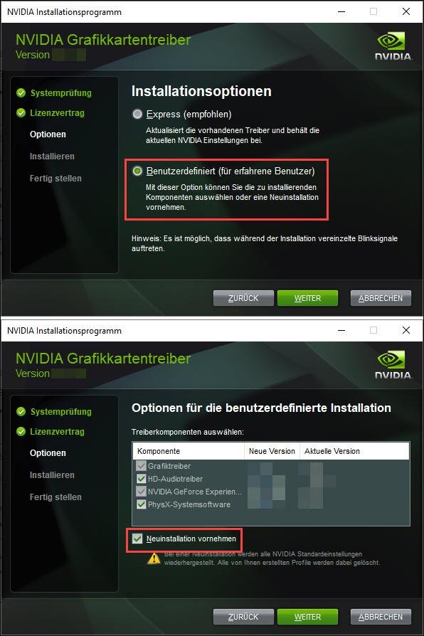 Nvidia Treiber Komplett Entfernen