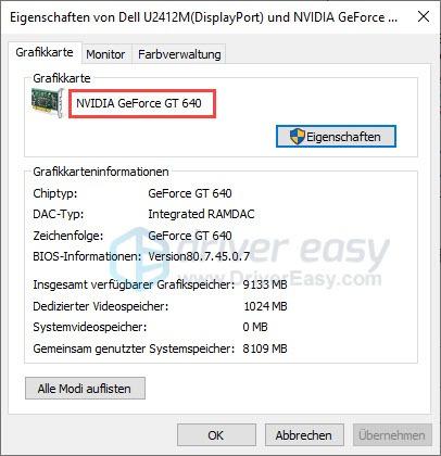 OpenGL Treiber Download und Update - Driver Easy Treiber ...