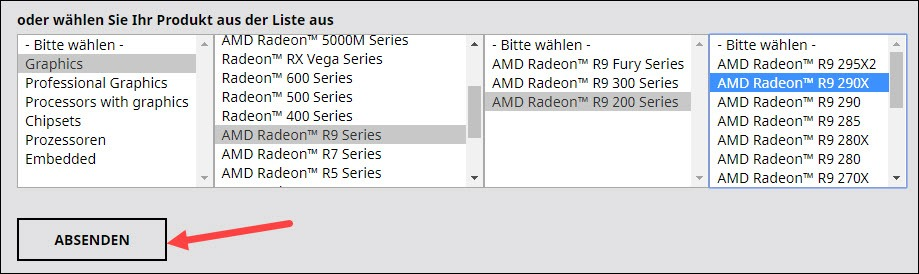 AMD Radeon R9 200 Series Treiber Download und Update ...